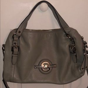 Grey MK purse